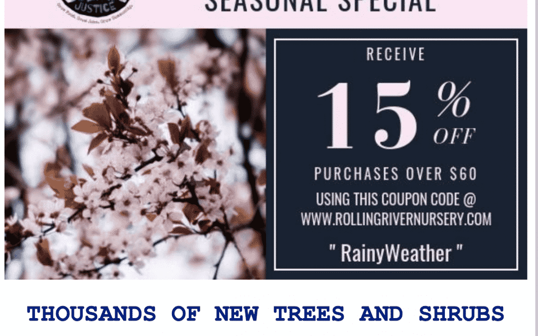 Don't miss this season's specials from the Planting Justice Nursery in Oakland