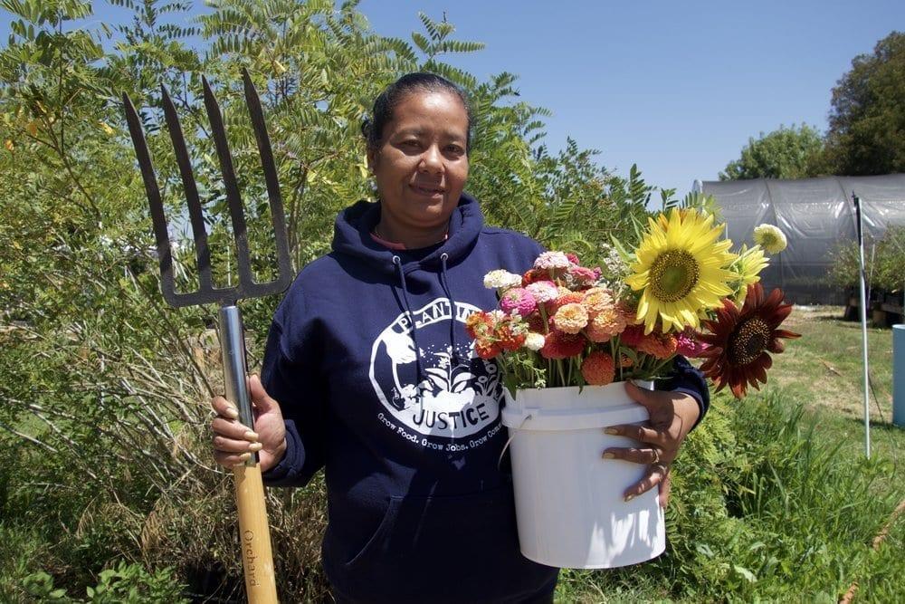 Staff Planting Justice Nursery Team Adela 2