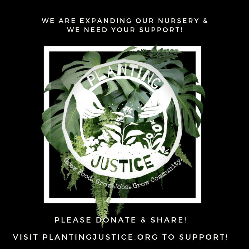 Important Announcement Advancing Food Justice @ Adachi! pj