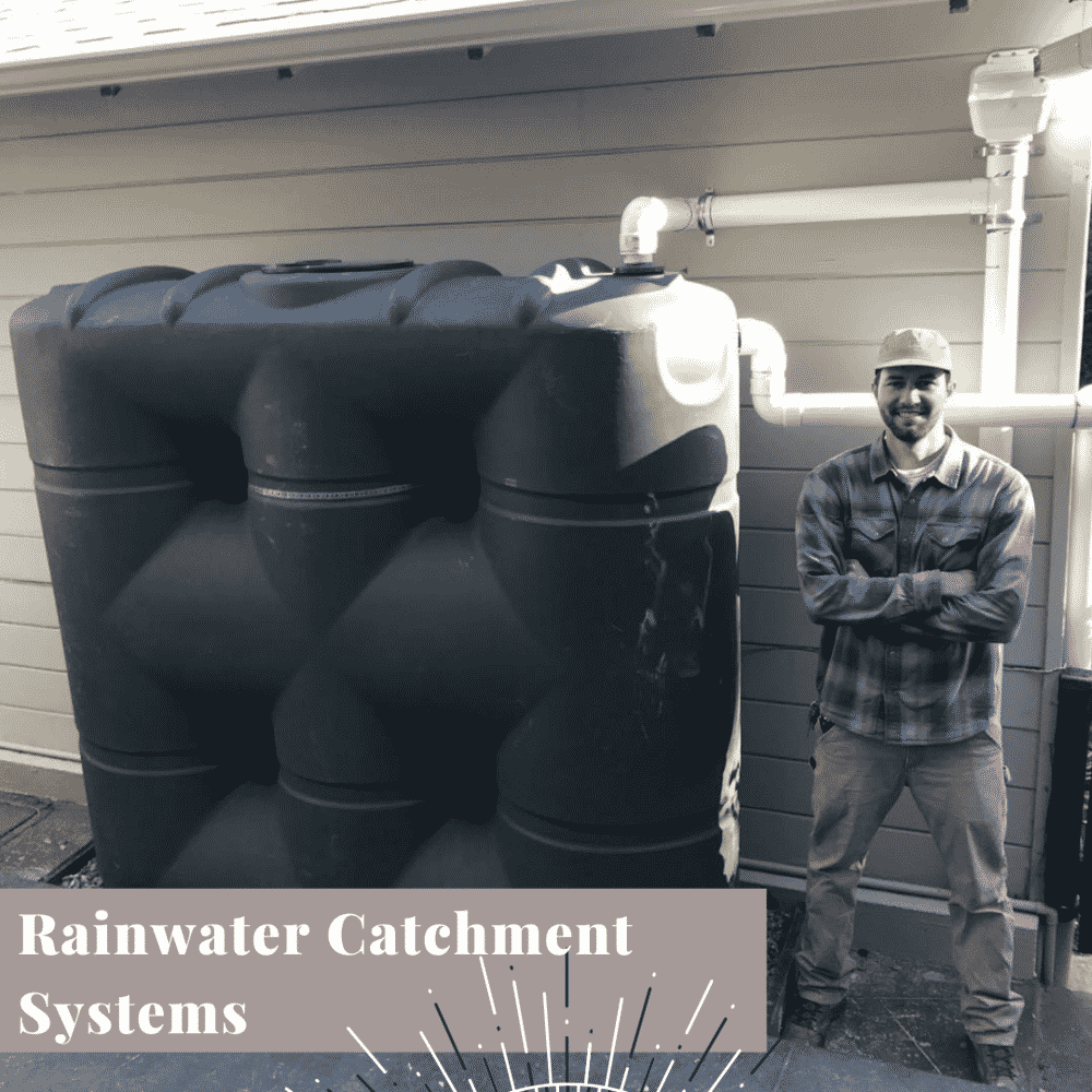 Transform Your Yard rainwater catchment